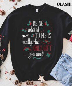 Funny Pajamas PJS Women Men Couples Christmas T Shirt Best Sale